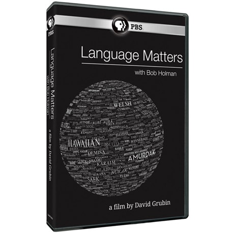 Language Matters with Bob Holman DVD