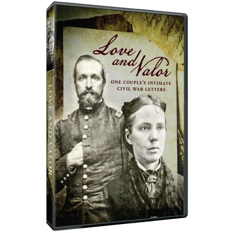 Love & Valor: One Couple's Intimate Civil War Letters DVD