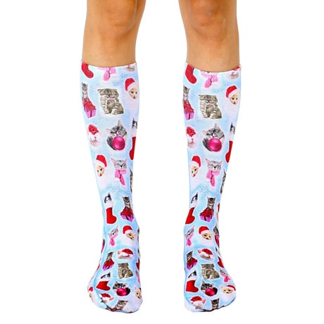 Christmas Kittens Unisex Socks