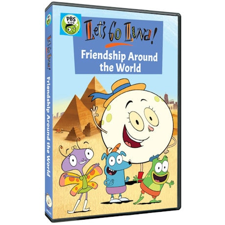 Let's Go Luna!: Friendship Around the World DVD