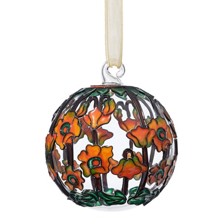 Louis C. Tiffany Poppy Ornament
