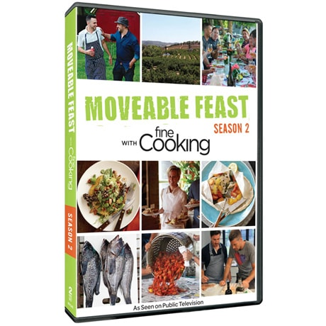 Moveable Feast with Fine Cooking - Season 2 DVD