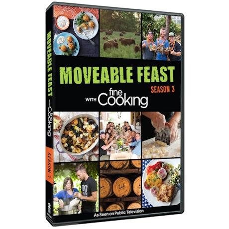 Moveable Feast with Fine Cooking - Season 3 DVD