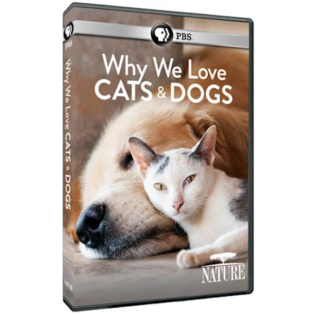 NATURE: Why We Love Cats and Dogs (2016) DVD