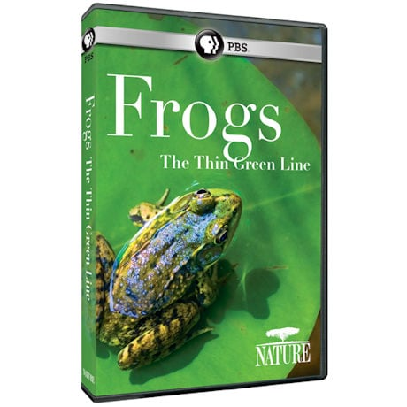 NATURE: Frogs: The Thin Green Line (2016) DVD