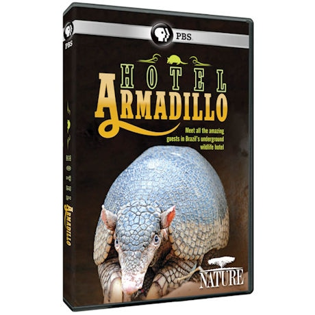 NATURE: Hotel Armadillo DVD