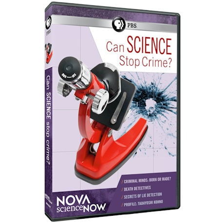 NOVA scienceNOW: Can Science Stop Crime? DVD