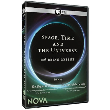 Space, Time, and the Universe with Brian Greene DVD