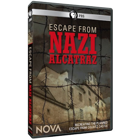 NOVA: Escape from Nazi Alcatraz DVD