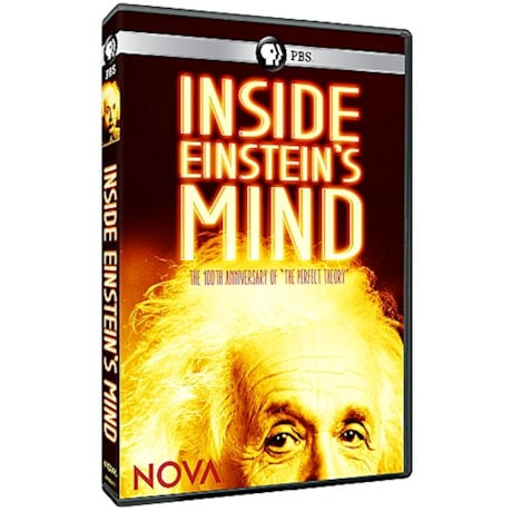 NOVA: Inside Einstein's Mind DVD - AV Item