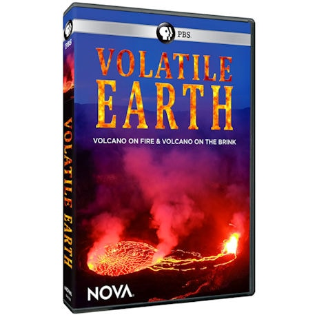 NOVA: Volatile Earth: Volcano on Fire and Volcano on the Brink DVD