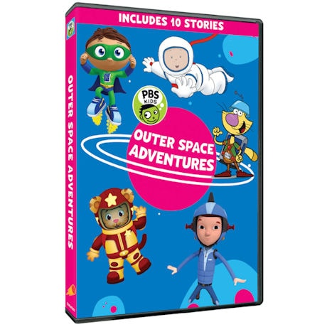 PBS Kids: Outer Space Adventures DVD