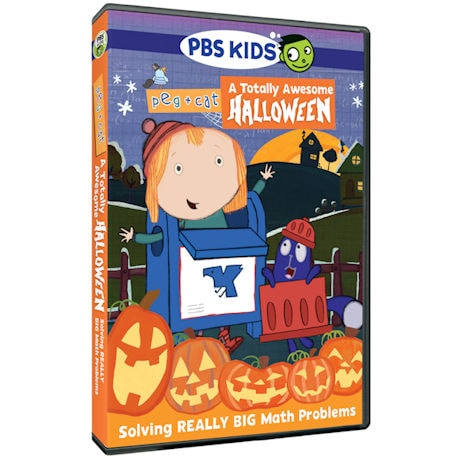 Peg + Cat: A Totally Awesome Halloween DVD