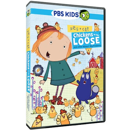 Peg + Cat: Chickens on the Loose, and other Really Big Problems! DVD