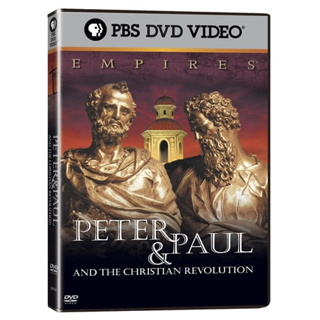 Empires: Peter & Paul and the Christian Revolution DVD An Empires Special