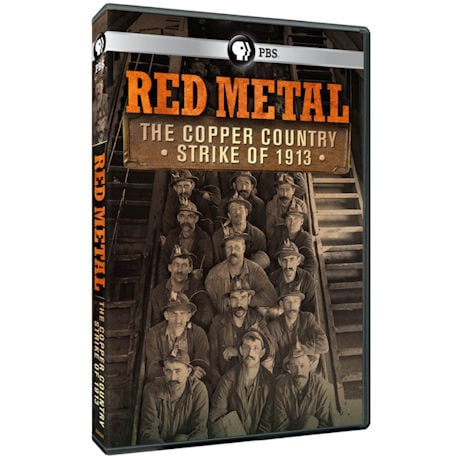 Red Metal: The Copper Country Strike of 1913 DVD