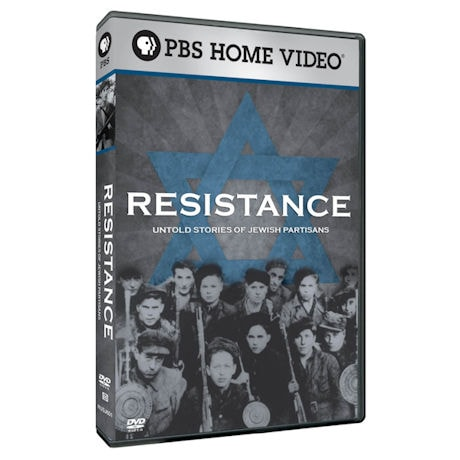 Resistance: Untold Stories of Jewish Partisans DVD