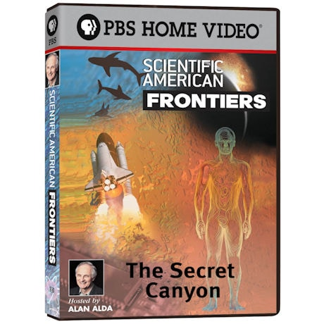 Scientific American Frontiers: The Secret Canyon - DVD