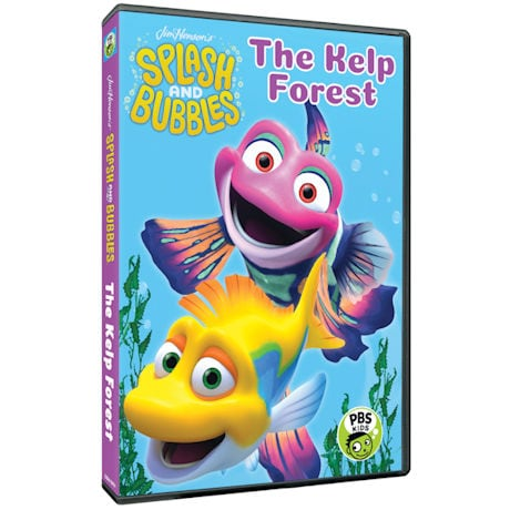 Splash and Bubbles: The Kelp Forest DVD