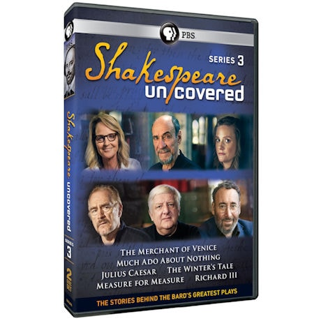 Shakespeare Uncovered, Series 3 DVD