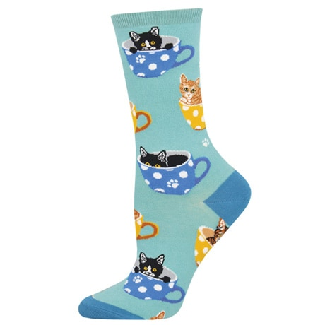 Cat-Feinated Women's Socks