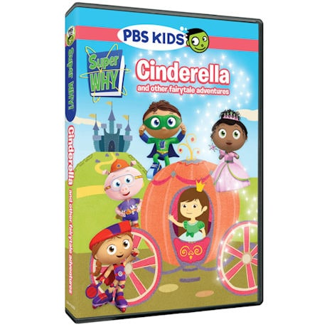 Super WHY!: Cinderella and other Fairytale Adventures DVD