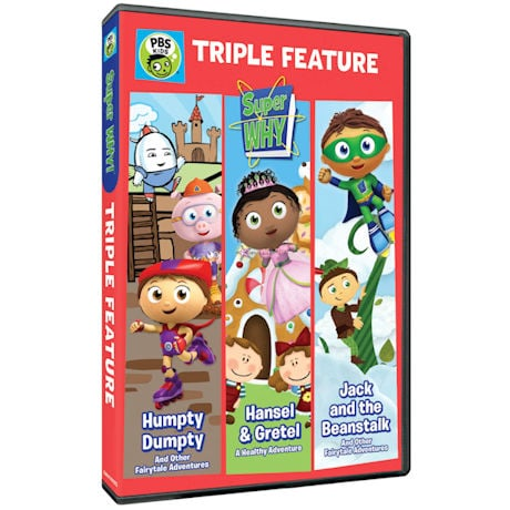 Super Why!: Triple Feature DVD