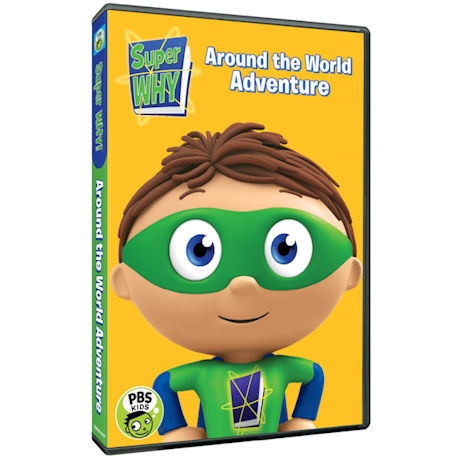 Super Why!: Around the World Adventure (Face) DVD