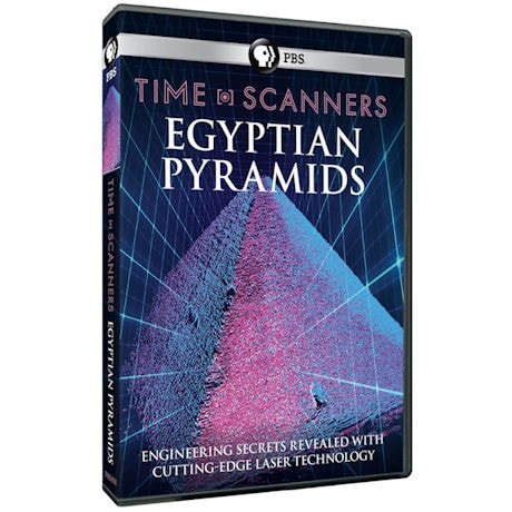 Time Scanners: Egyptian Pyramids DVD