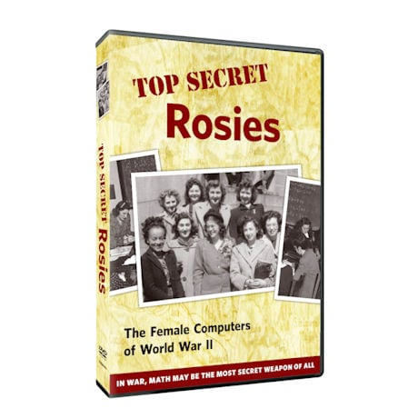 Top Secret Rosies: The Female Computers of WWII DVD