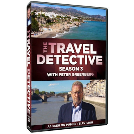 The Travel Detective Season 3 DVD