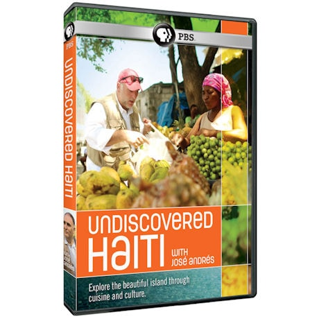 Undiscovered Haiti with Jose Andres DVD