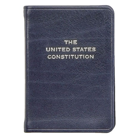 U.S. Constitution Leatherbound Keepsake - Unpersonalized