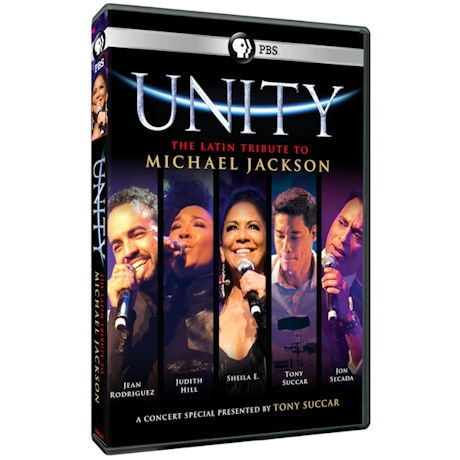 Unity - The Latin Tribute to Michael Jackson DVD