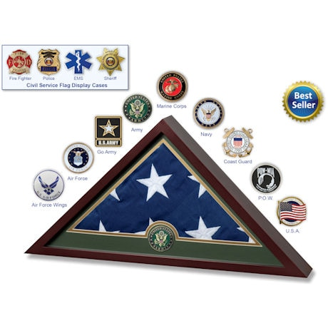 Military Service Branches US Flag Frame