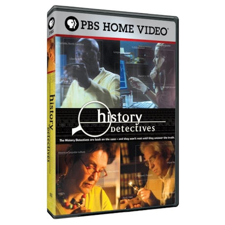 History Detectives: Satelloon, Space Boot, Moon Museum DVD