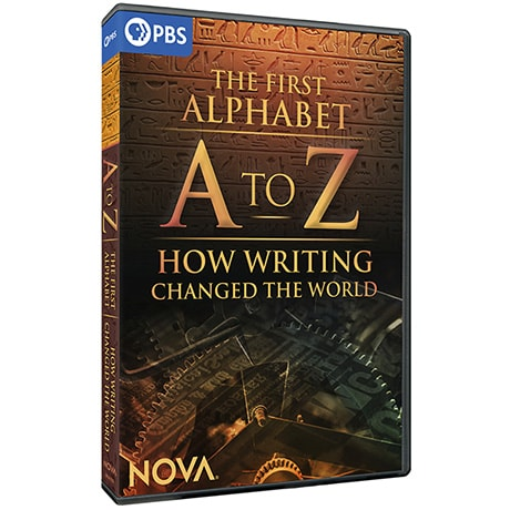 PRE-ORDER NOVA: A to Z - The First Alphabet and How Writing Changed the World DVD