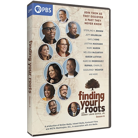 PRE-ORDER Finding Your Roots, Season 6 DVD