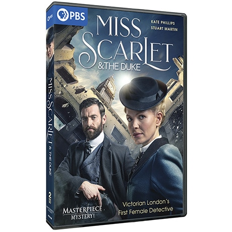 PRE-ORDER Masterpiece Mystery!: Miss Scarlet & the Duke DVD