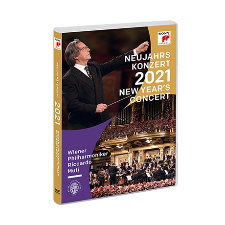 PRE-ORDER Great Performances: Vienna Philharmonic 2021 New Years Eve Concert DVD & Blu-ray