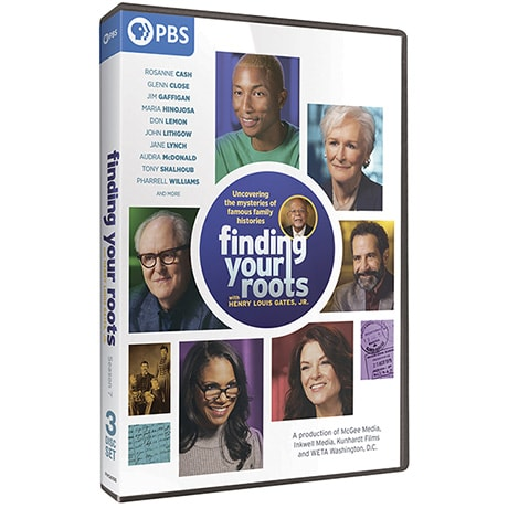 PRE-ORDER Finding Your Roots, Season 7 DVD