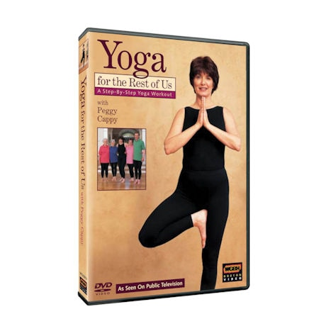 Yoga for the Rest of Us with Peggy Cappy:  A Step-By-Step Yoga Workout DVD