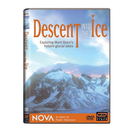 NOVA: Descent into the Ice: Exploring Mont Blanc's Hidden Glacial Lakes DVD