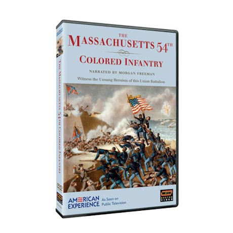 American Experience: The Massachusetts 54th Colored Infantry DVD