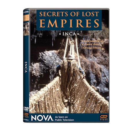 NOVA: Secrets of Lost Empires 1: Inca DVD