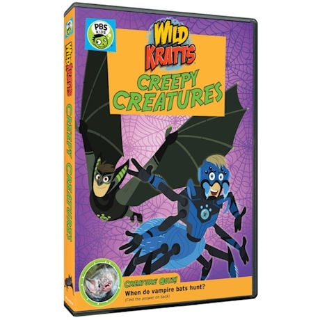 Wild Kratts: Creepy Creatures! DVD