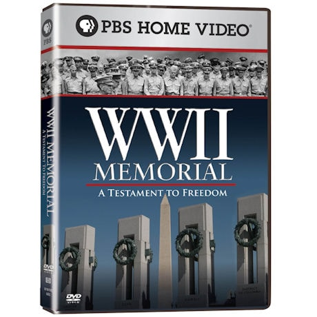 The World War II Memorial: A Testament to Freedom DVD