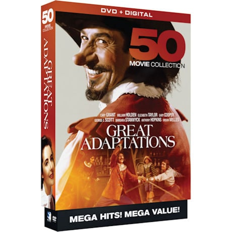 Great Adaptations: 50 Movie Collection DVD