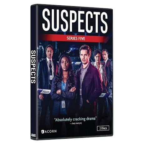 Suspects: Series 5 DVD