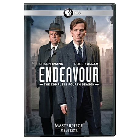 Masterpiece Mystery!: Endeavour Season 4 (UK Edition) DVD & Blu-ray
